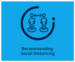 Recommending Social Distancing
