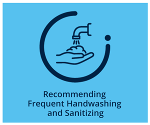 Recommending Frequent Handwashing and Sanitizing